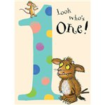 Gruffalo Age 1 Spotty Birthday Card