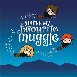 Harry Potter Muggle Birthday Card