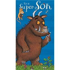 Gruffalo 'Super Son' Birthday Card