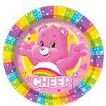 Care Bears Plates - 23cm Paper Party Plates