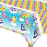 Care Bears Plastic Tablecover - 1.4m x 1.8m