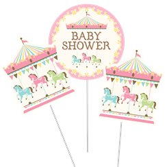 Carousel Party Centerpiece Sticks