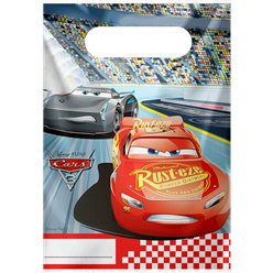Disney Cars 3 - Plastic Party Bags