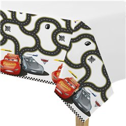 Disney Cars 3 - Plastic Tablecover 1.2m x 1.8m