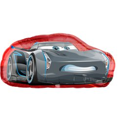 "Cars Cruz & Jackson SuperShape Balloon - 35"" Foil"