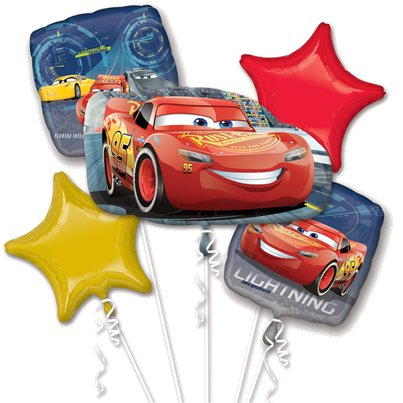 Cars Lightening McQueen Bouquet Balloons