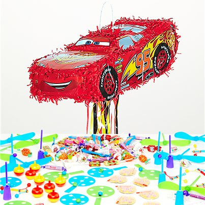 Cars Lightening McQueen Pull Piñata Kit