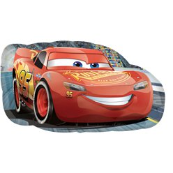 Cars Lightening McQueen Supershape