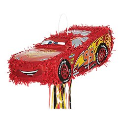 Cars Lightening McQueen Pull Pinata