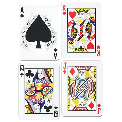 Playing Card Cutouts - 44cm