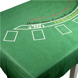 Casino Blackjack Tablecover