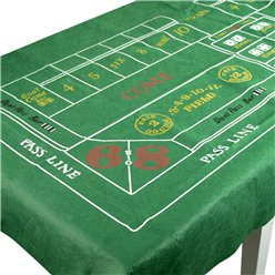 Casino Craps Tablecover