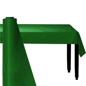 Green Plastic Banqueting Roll - 30m