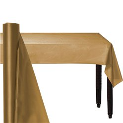 Gold Plastic Banqueting Roll - 30m