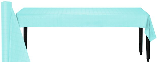 Light Blue Paper Banqueting Roll - 8m