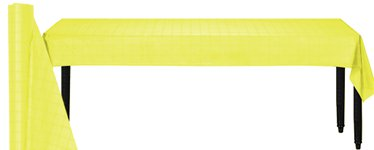 Yellow Table Roll - 8m Paper