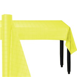 Yellow Paper Banqueting Roll - 8m
