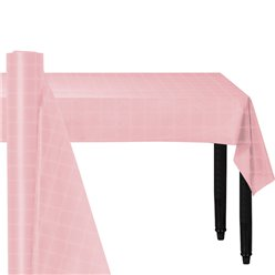 Pink Paper Banqueting Roll - 8m