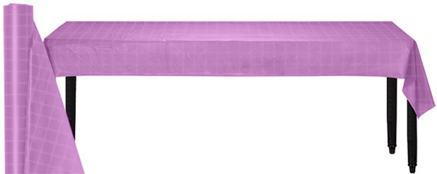 Lilac Paper Banqueting Roll - 8m