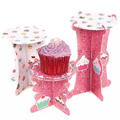 Set of 3 Cupcake Stands