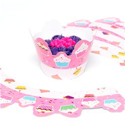 12 Set of Cupcake Wrappers