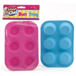 Junior Chef Silicone Bun Baking Tray