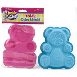 Junior Chef Silicone Teddy Cake Mould