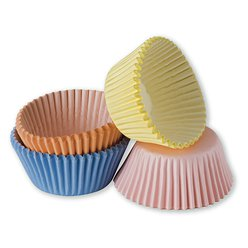 Assorted Pastel Cupcake Cases