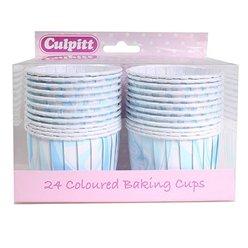 Blue Marble Baking Cups Boxed - 6cm