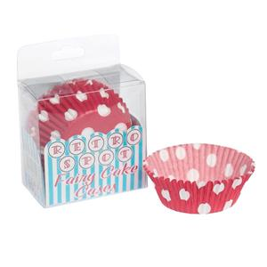 Red Dotty Fairy Cupcake Cases