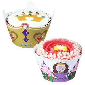 Princess Cupcake Wraps