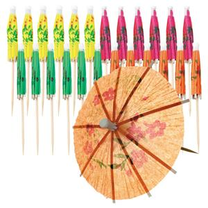 Cocktail Umbrella Picks - 10cm