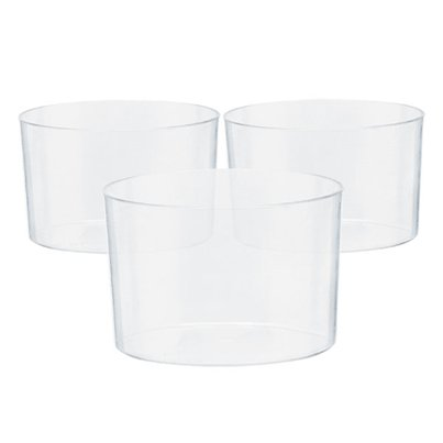 Clear Plastic Mini Bowls - 71ml