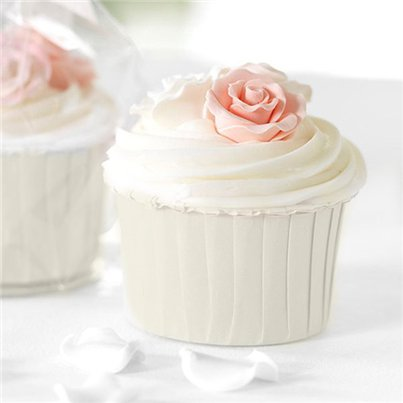 Ivory Baking Cups