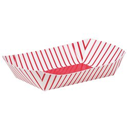 Paper Snack Trays - 16.5cm long
