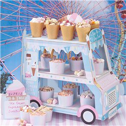 Ice Cream Van Stand