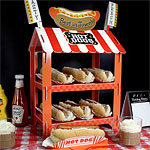 Hot Dog or Popcorn Stand