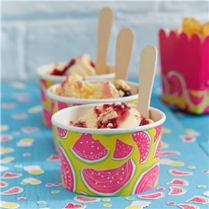 Watermelon Treat Tubs with Spoons - 150ml