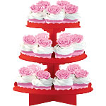Apple Red Cake Stand