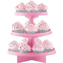 Pink Cupcake Stand
