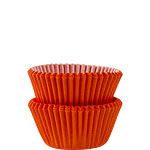 Orange Mini Cupcake Cases - 3cm