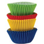 Rainbow Mini Cupcake Cases - 3cm