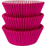 Hot Pink Cupcake Cases - 5cm