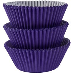 Purple Cupcake Cases - 5cm