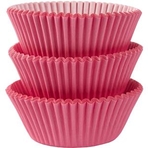 Pink Cupcake Cases - 5cm