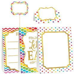 Rainbow Buffet Decorating Kit