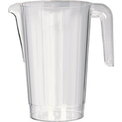 Clear Plastic Pitcher - 1.4L