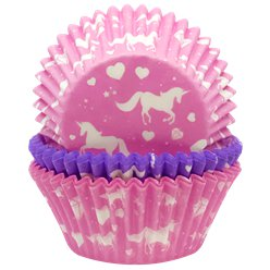 Unicorn Sparkle Cupcake Cases