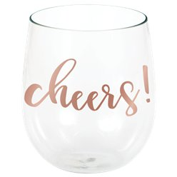 Cheers Stemless Wine Glass - 398ml