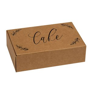 Hearts & Krafts Wedding Cake Boxes